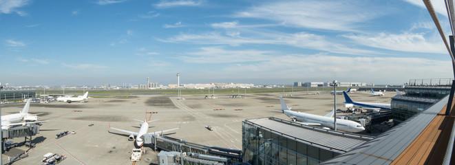 羽田空港 国際線ターミナルからの風景