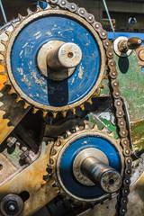Maschine Zahnräder Getriebe