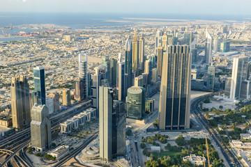 City Skyline of Dubai, United Arab Emirates
