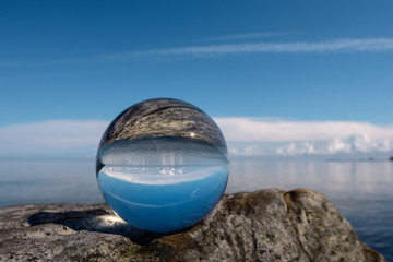 Reflect in crystal ball