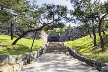 Secret Gate in a Fortress