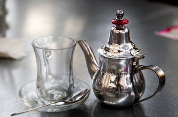 Middle east tea traditions