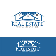 real estate roof home building house property logo icon