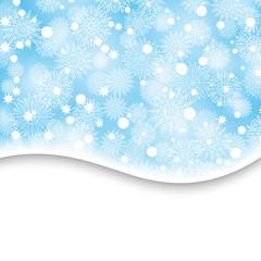 Christmas, snowflake background