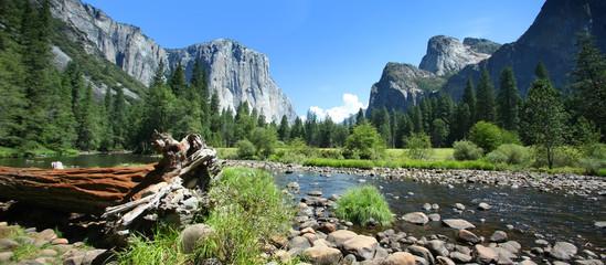 Türaufkleber Naturpark California (USA) - Yosemite National Park