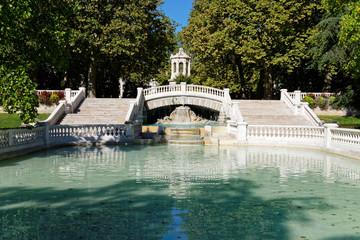 Fontaine du parc Darcy