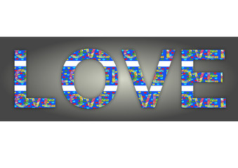 Love, Grafik