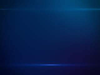Beautiful Blue Light and Gradient Color - Luxury Background Design Element