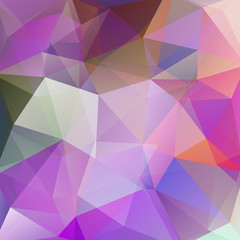 Abstract pink geometric style background. Vector illustration
