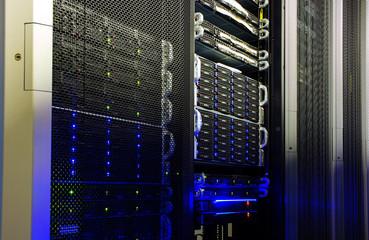 supercomputer disk storage in data center