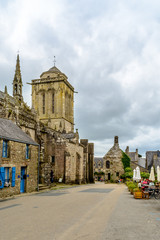 Locronan, Finist?re, Brittany in village