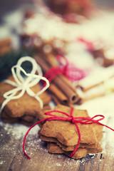 Weihnachtskekse gebacken