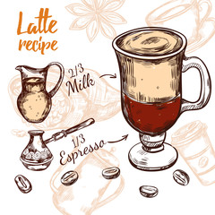 Sketch Coffee Recipe