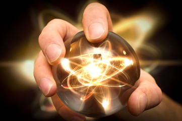 Crystal Ball Atom
