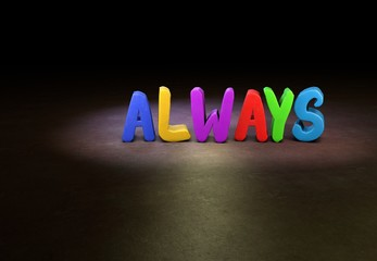 Always, Design, 3D
