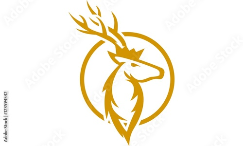 11 Circle King Deer Stock Image And Royalty Free Vector Files On