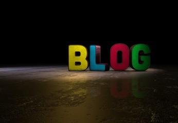 Blog, Internet, Design, 3D