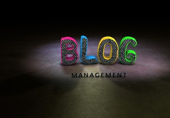 Management, Blog, Internet, Design, 3D