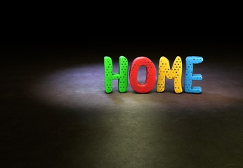 Home, Internet, Design, 3D