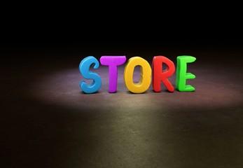 Store, Internet, Design, 3D
