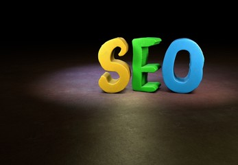 SEO, Internet, Design, 3D