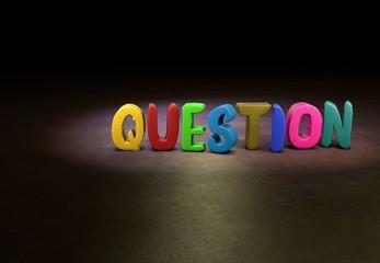 Question, Designer, 3D