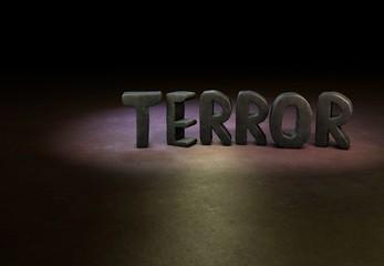 Terror, Designer, 3D