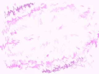 Explosão em tons de rosa