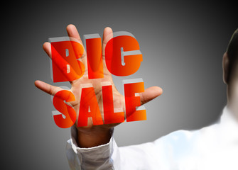 Big sale word touch screen