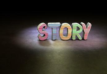 Story, Designer, 3D