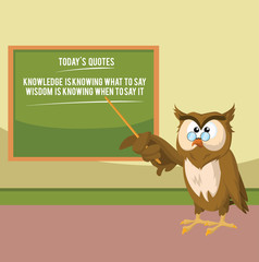 the wise owl quotes
