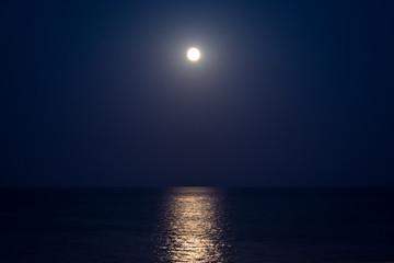 Full Moon over the sea I
