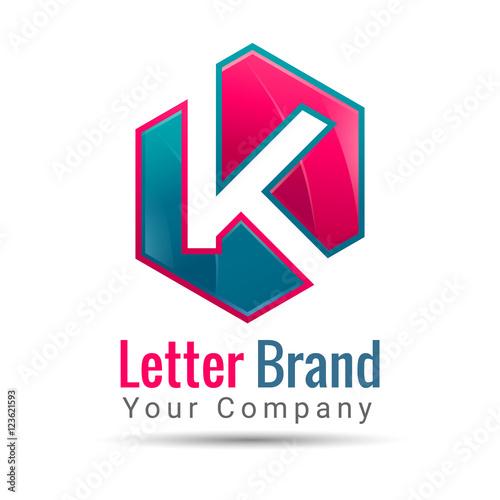 Letter k logo template vector business icon corporate branding letter k logo template vector business icon corporate branding identity design illustration for spiritdancerdesigns Images