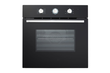 oven, modern stove, front