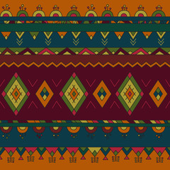South America pattern