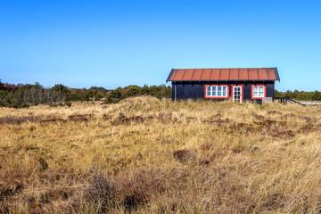 Haus in den Dünen bei Skagen