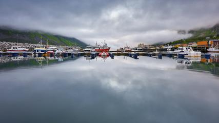 Gryllefjord, Norwey - Beautiful landscape of Norway, Scandinavia