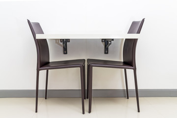 table and chairs for small space