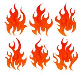 Six fire icon