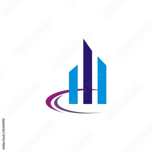 """""""Building construction vector logo design template"""" Stock ..."""