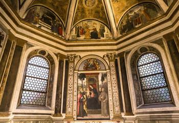 Basilica of Santa Maria del Popolo, Rome, Italy