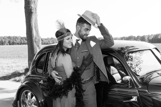 couple in the 20s