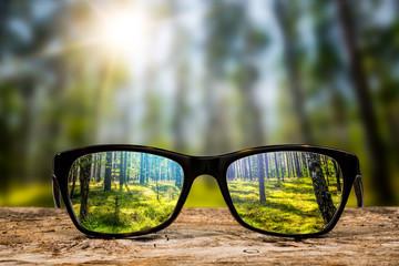 Fototapeta Glasses concepts.