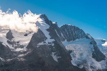 Großglockner Gipfel - höchster Berg in Österreich mit 3798 Metern