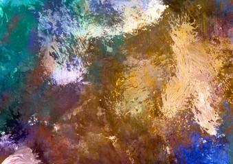 dark colorful watercolor background