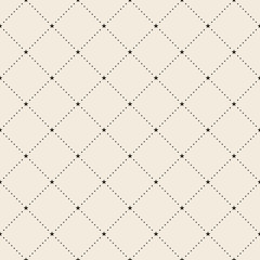 Retro pattern of geometric star shapes