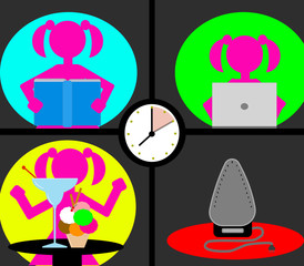 Only ten minutes: don't waste your time ironing.. you can do better things!