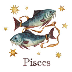 Zodiac sign - Pisces.