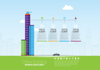 Cityscape Element Infographic