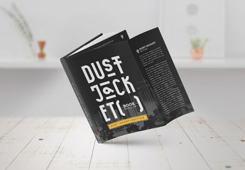 Dust Jacket Mockup Set
